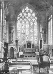 Church Altar 1896, Tideswell