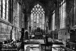 Church Chancel 1896, Tideswell