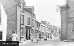 Church Street c.1955, Tideswell