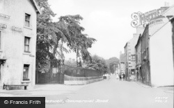 Commercial Road c.1950, Tideswell