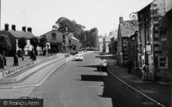 Commercial Road c.1960, Tideswell