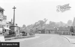 Fountain Square c.1955, Tideswell