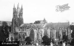 Parish Church c.1950, Tideswell