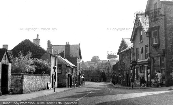 Photo of Tideswell, Queen Street c.1950