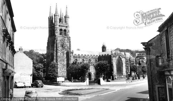Photo of Tideswell, St John The Baptist Church c.1960