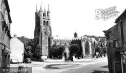 St John The Baptist Church c.1960, Tideswell