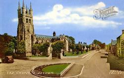 St John The Baptist's Church c.1960, Tideswell