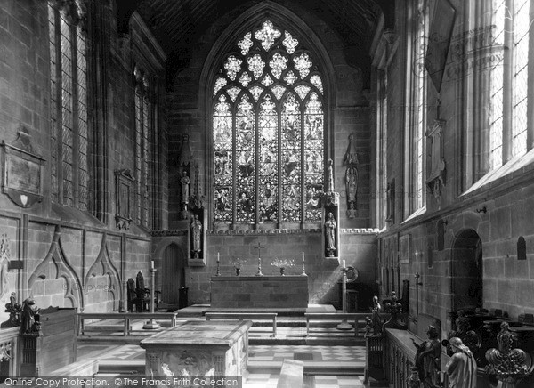 Photo of Tideswell, The Chancel, The Parish Church c.1960