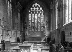 The Chancel, The Parish Church c.1960, Tideswell