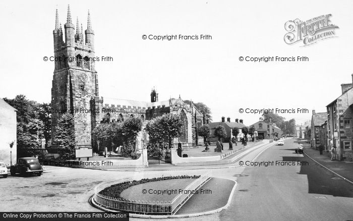 Photo of Tideswell, The Church c.1960