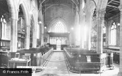 The Church Interior c.1960, Tideswell