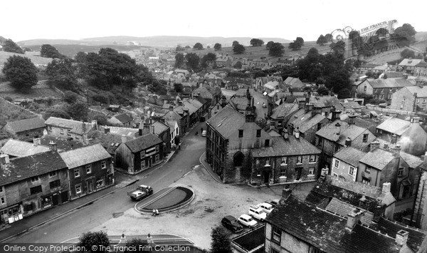 Photo of Tideswell, View From The Church Tower c.1960