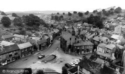 View From The Church Tower c.1960, Tideswell
