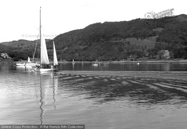 Photo of Tighnabruaich, The Kyles Of Bute c.1955