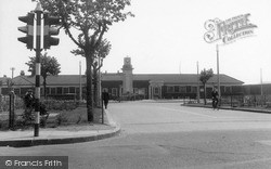 Tilbury, Calcutta Road And Clock Tower c.1960