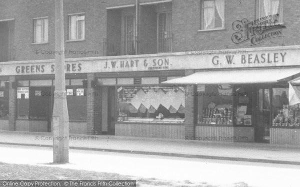 Photo of Tilbury, Commonwealth House, Shops c.1960