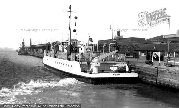 Photo of Tilbury, Ferry c1960, ref. T114027