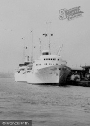 Tilbury, Riverside Ships c.1960