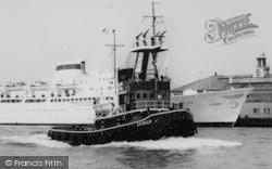 """Tilbury, The """"Avenger"""" Tug Boat c.1960"""