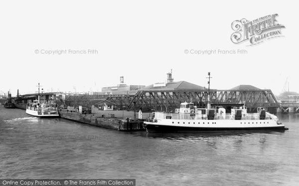 Photo of Tilbury, The Ferry c.1960