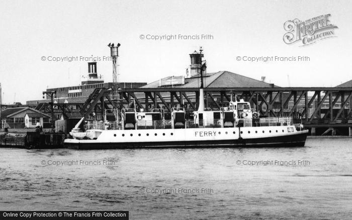 Photo of Tilbury, The Ferry c.1960