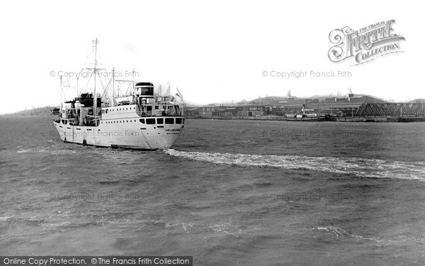 Photo of Tilbury, The Thames c.1955
