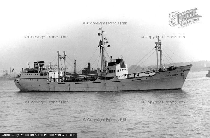 Photo of Tilbury, The 'vruburgh' On The Thames c.1955