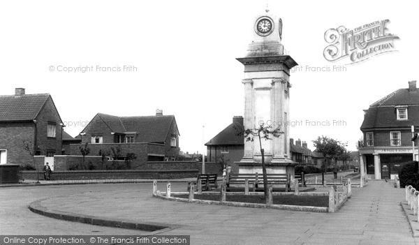 Photo of Tilbury, The War Memorial c.1960