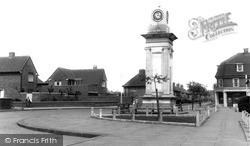 Tilbury, The War Memorial c.1960