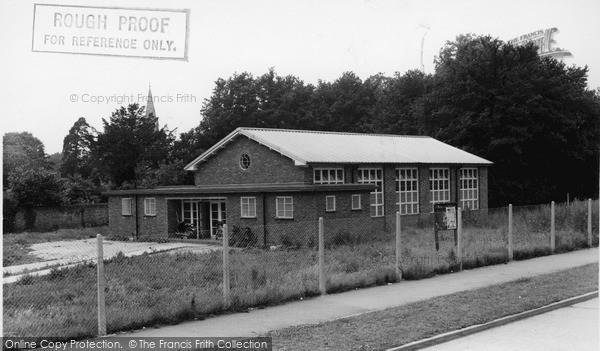 Photo of Tilehurst, Church Hall c.1955
