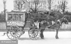 Tilehurst, Horse-Drawn Bus c.1900