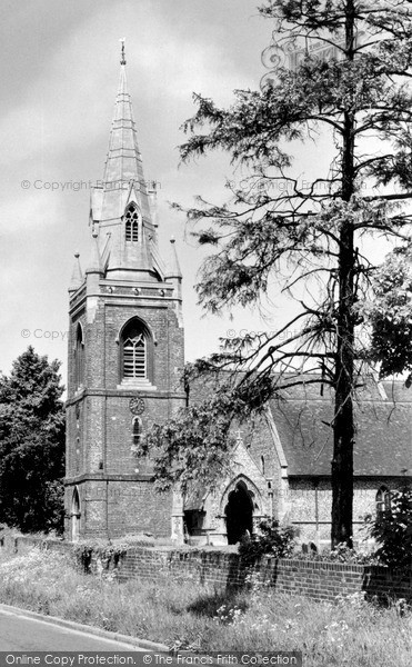 Photo of Tilehurst, Parish Church Of St Michael c.1955