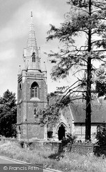 Tilehurst, Parish Church Of St Michael c.1955