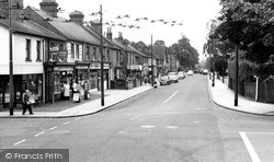 Tilehurst, School Road c.1960