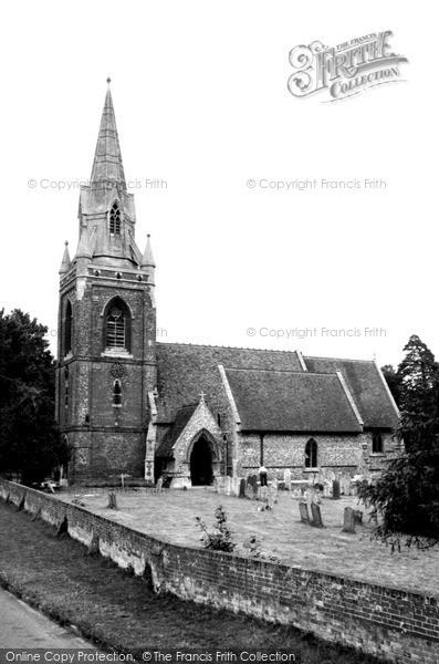 Photo of Tilehurst, St Michael's Church c.1960