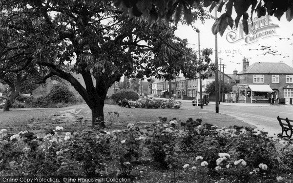 Photo of Tilehurst, The Triangle c.1955