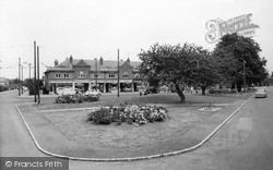 Tilehurst, The Triangle c.1960