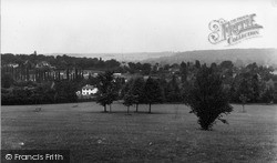 Tilehurst, View From Aurthur Newbery Park c.1960