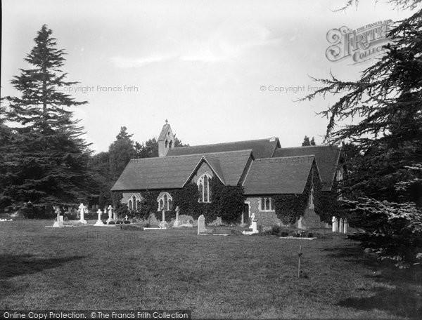 Photo of Tilford, All Saints' Church 1932
