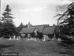 Tilford, All Saints' Church 1932