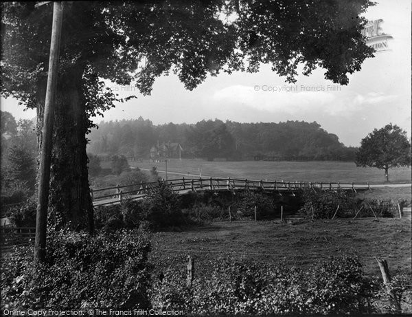 Photo of Tilford, Bridge And Green 1932