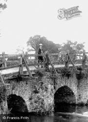 Cyclist On The Bridge 1909, Tilford