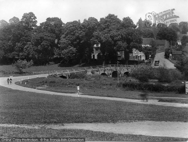 Photo of Tilford, East Bridge And Post Office 1936
