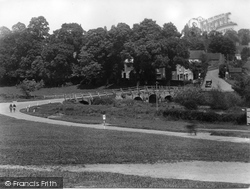 Tilford, East Bridge And Post Office 1936