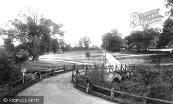 Tilford, The Bridge And Green 1909