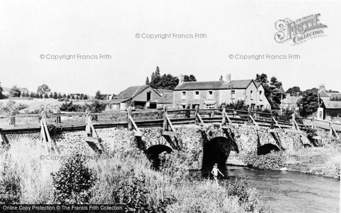 Photo of Tilford, The Bridge c.1955