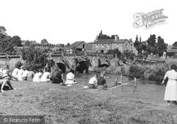 Tilford, The River Wey c.1955