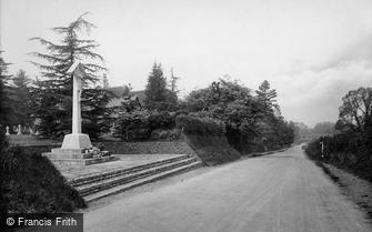 Tilford, the War Memorial 1923