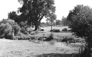 Tilford, view from the Bridge c1955