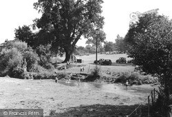Tilford, View From The Bridge c.1955